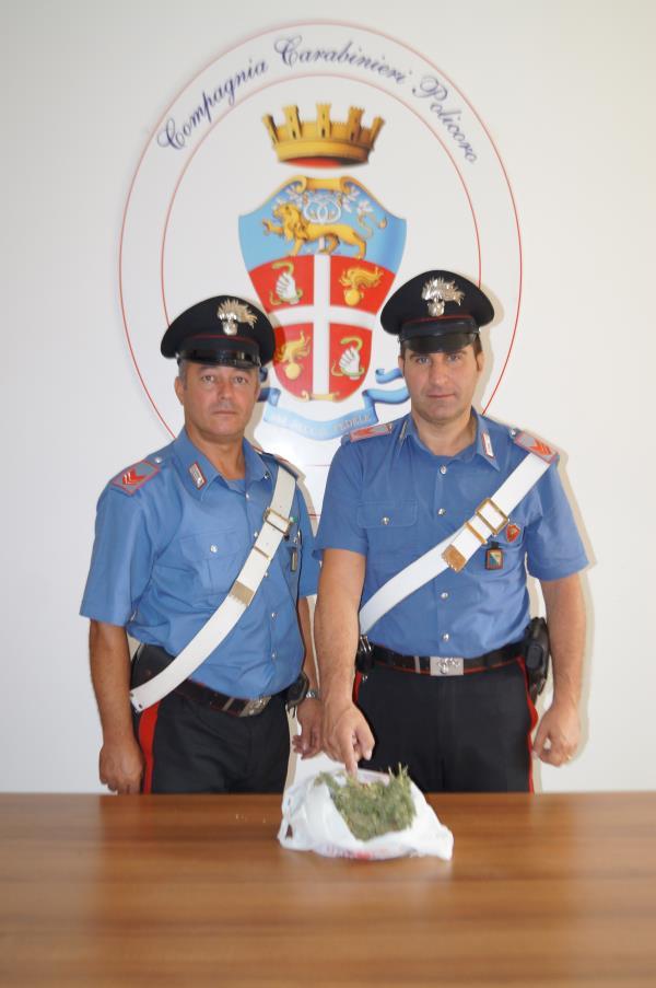 Carabinieri rinvengono 167 grammi di marijuana nell´auto di un giovane - 25 settembre 2015