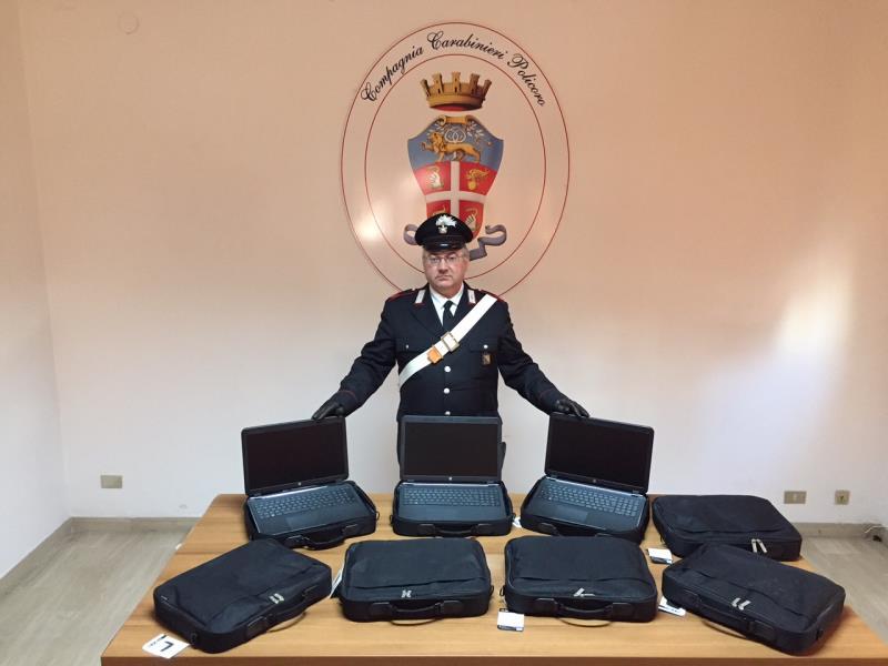 Computer rinvenuti dai Carabinieri