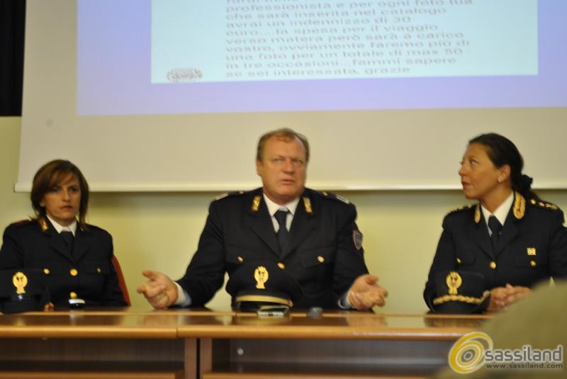 Conferenza stampa Polizia Postale su pedopornografia - 28 settembre 2015 (foto SassiLand)