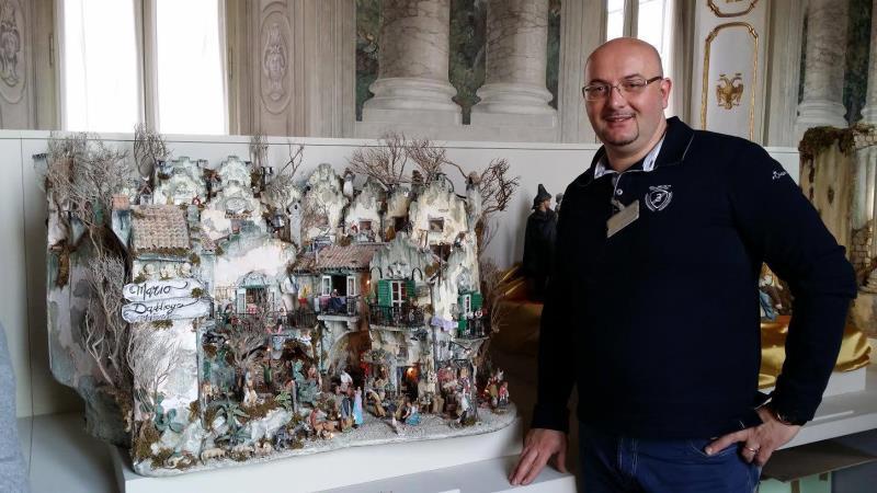 Il Presepe di Mario Daddiego in mostra al Quirinale