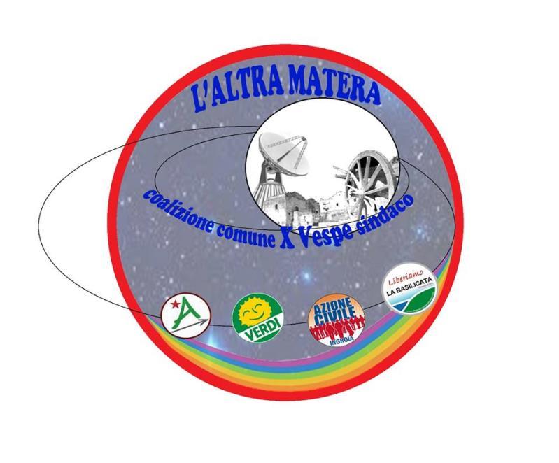 """Logo della lista civica """"L´altra Matera"""""""