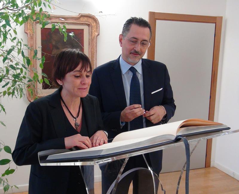 Marcello Pittella incontra Simona Vicari