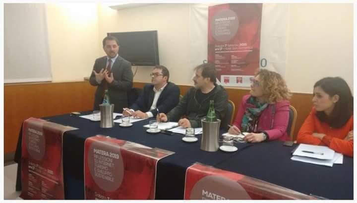 Matera 2019: riflessioni su internet, turismo e sviluppo sostenibile, tavola rotonda dei giovani socialisti di Matera