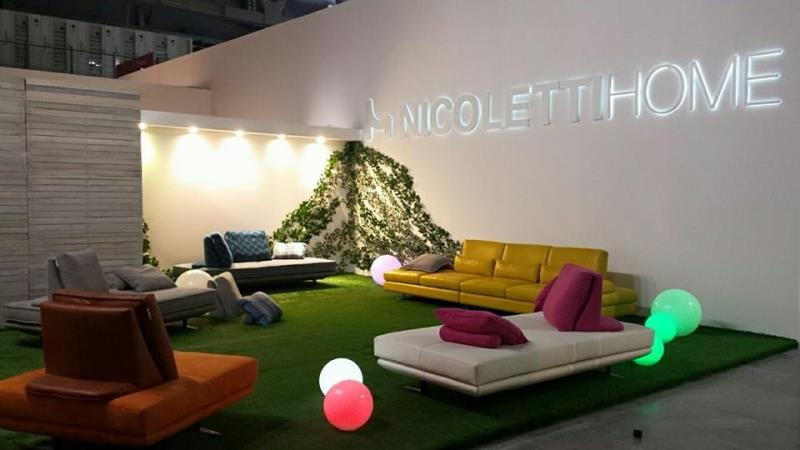 Anche nicolettihome al salone internazionale del mobile di for Salone veneto del mobile
