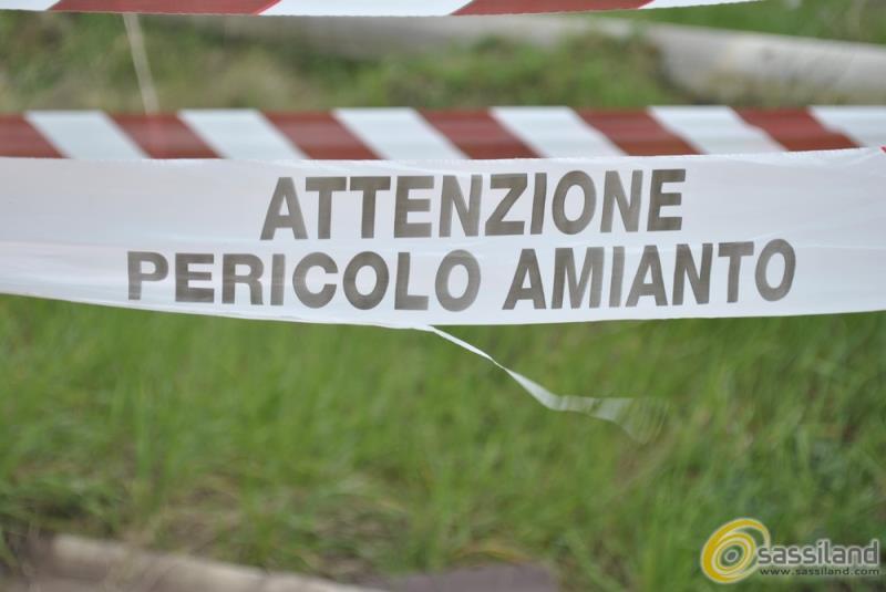 Pericolo amianto (foto SassiLand)