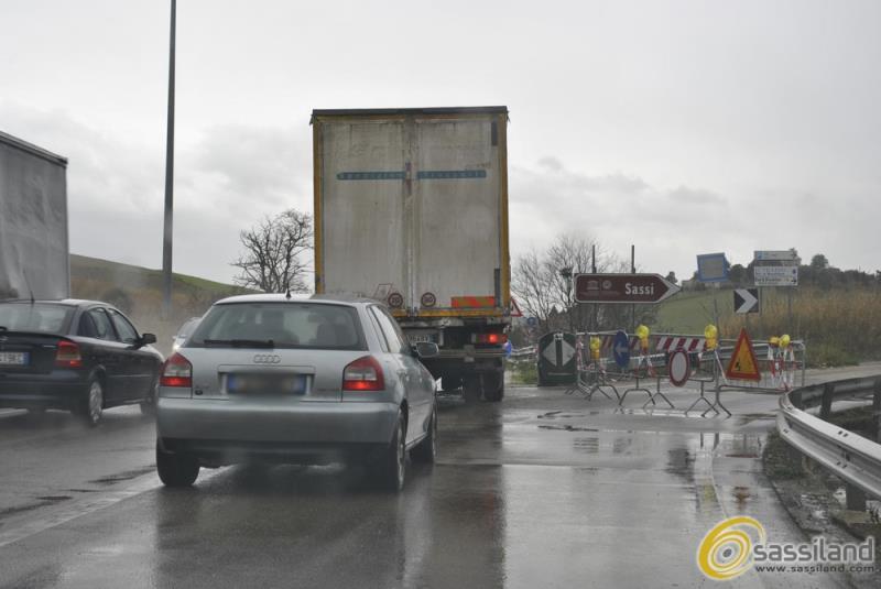 Pericolo per la chiusura della rampa di accesso a Matera Centro (foto SassiLand)
