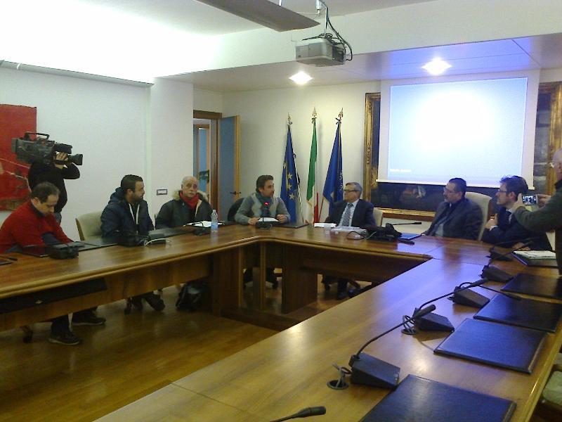 Pittella incontra delegazione Silp Cgil