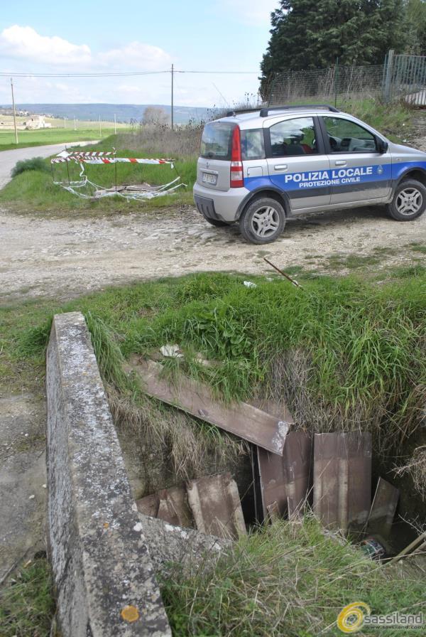 Polizia Municipale di Matera del settore ambiente a Timmari - 9 marzo 2015 (foto SassiLand)