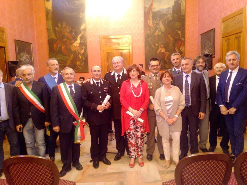 Prefettura Matera: Consegna delle onorificenze al Merito della Repubblica Italiana