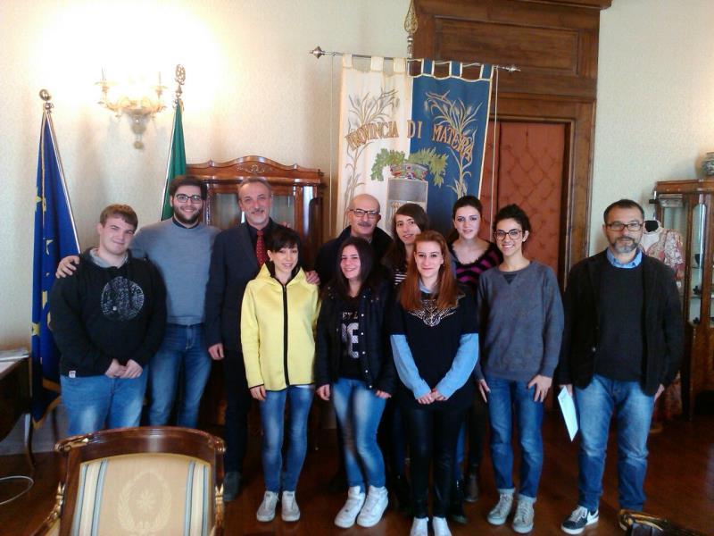 Provincia di Matera: De Giacomo incontra i ragazzi del liceo pedagogico