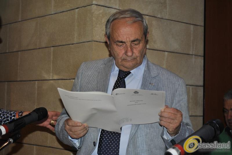Raffaello De Ruggieri in Consiglio Comunale