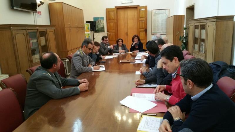 Riunione in Prefettura del Comitato Provinciale per l´Ordine e la Sicurezza Pubblica