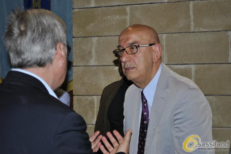 Salvatore Adduce in consiglio comunale (foto SassiLand)