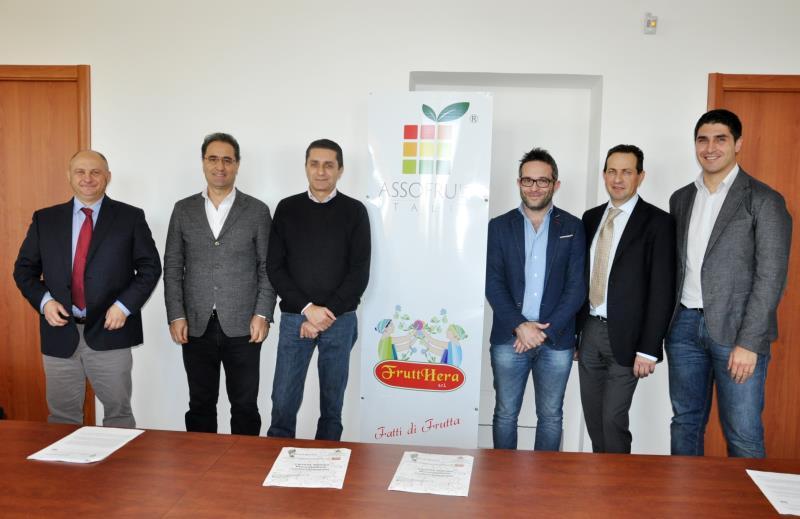 Un incontro che si è svolto nella sala meeting di Asso Fruit ITALIA