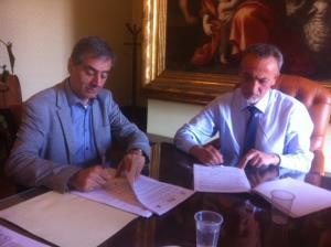 Accordo di partenariato tra Provincia di Matera e DICEM - Matera