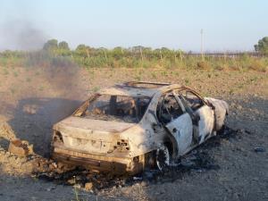 BMW Bruciata