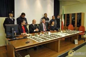 Conferenza stampa su arresto per droga - 28 maggio 2015 (foto SassiLand)