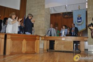 Giuramento del neo sindaco Raffaello De Ruggieri (foto SassiLand) - Matera