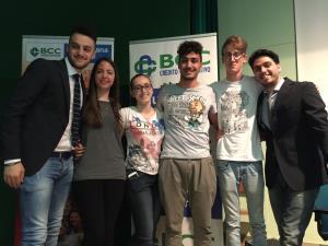 Gli studenti dell'Istituto tecnico commerciale �Antonio Loperfido� - Matera