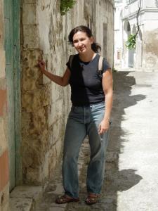 Helene Stapinski in Basilicata - Matera