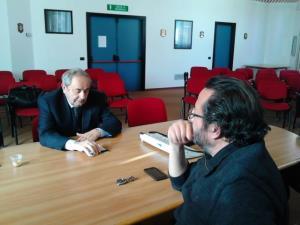 IL SINDACO RAFFAELLO DE RUGGIERI AL CENTRO DI GEODESIA SPAZIALE - Matera