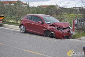 Incidente tra La Martella e Matera - 9 marzo 2015 (foto SassiLand)