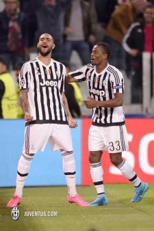 La gioia di Zaza dopo il gol - Matera