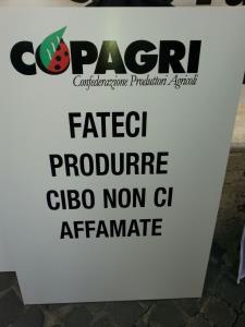 Manifestazione Copagri a Roma