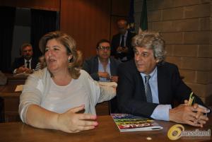 Marilena Antonicelli e Saverio Vizziello (foto SassiLand) - Matera