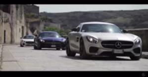 Mercedes AMG-GT nei Sassi di Matera - Matera