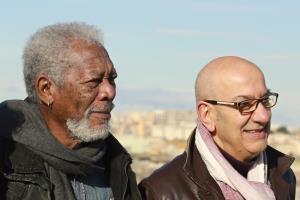 Morgan Freeman e Salvatore Adduce - Matera