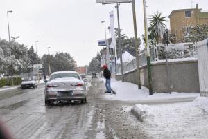 Neve a Matera - 31 dicembre 2014 (foto SassiLand) - Matera