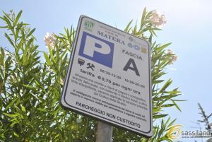 Nuovo cartello SISAS per i parcheggi a pagamento - Matera