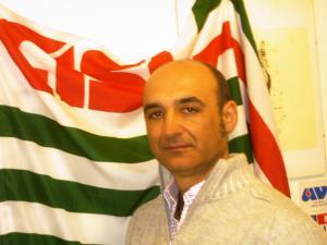 Pino Bollettino, Segretario Generale Regionale della CISL FP - Matera