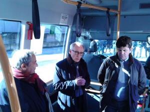 Presentazione dei nuovi autobus Miccolis