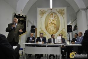 Presentazione del tema religioso del Carro Trionfale 2016 - Festa della Bruna 2016 (foto SassiLand) - Matera