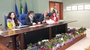 Presentazione dell'iniziativa Basilicata Fiorita - Matera