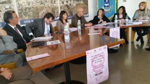 Presentazione dello sportello contro violenza sulle donne - 28 gennaio 2015 - Matera