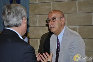 Salvatore Adduce in consiglio comunale (foto SassiLand) - Matera