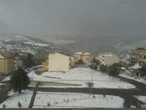 San Mauro Forte sotto la neve - 9 febbraio 2015