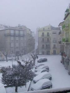 Stigliano in bianco (foto Mimmo Rizzo) - 9 febbraio 2015