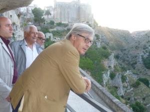 Vittorio Sgarbi a Matera