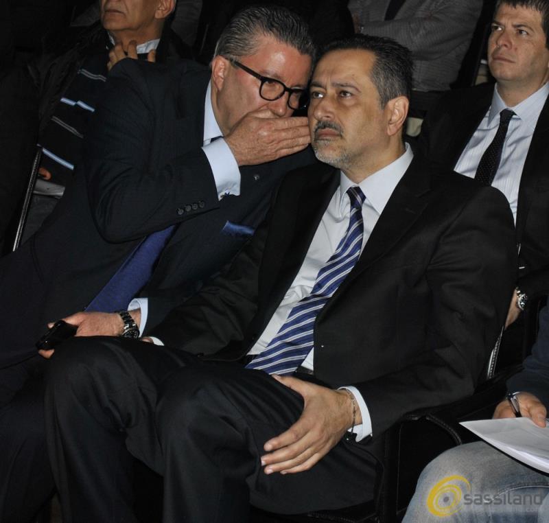 Angelo Tortorelli e Marcello Pittella (foto SassiLand)