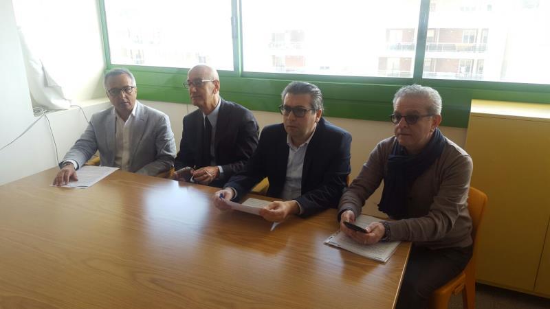 Conferenza stampa del Centro Sinistra su tassazione a Matera