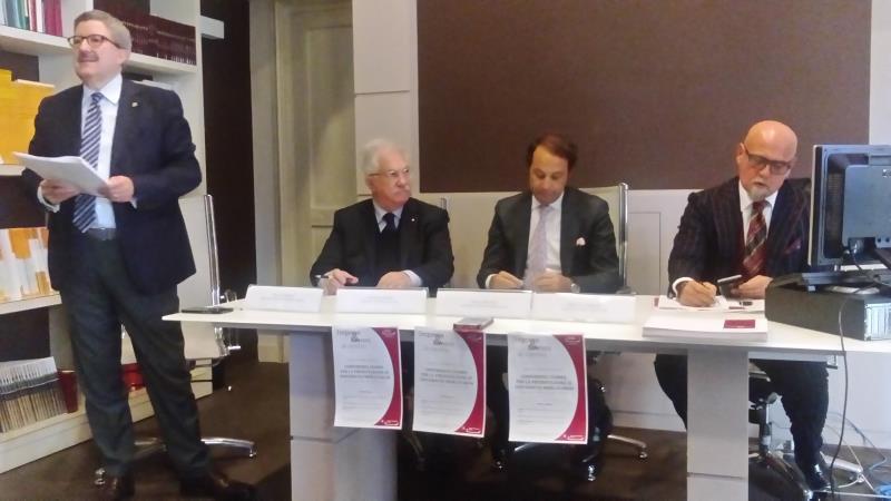Conferenza stampa di presentazione di Universitas Mercatorum