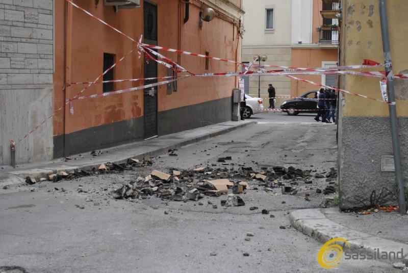 Danni causati da forte vento a Matera (foto SassiLand)