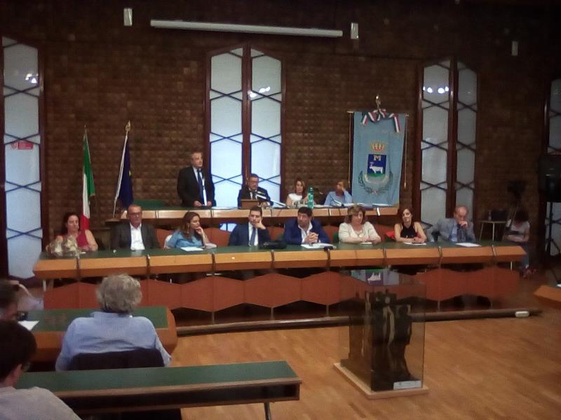Giunta comunale di Matera al completo