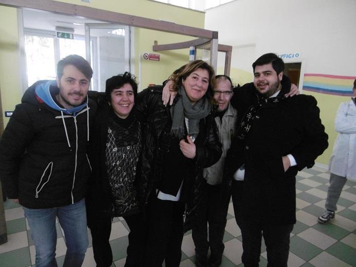 """I RAGAZZI DEL CENTRO """"ROCCO MAZZARONE"""" INCONTRANO I GIOCATORI DEL MATERA CALCIO"""
