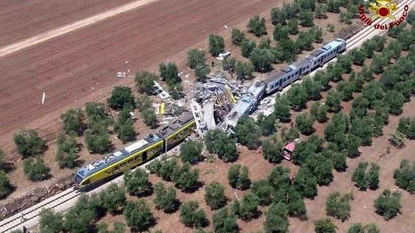 Incidente ferroviario Bari Nord - 12 luglio 2016 (foto internet)