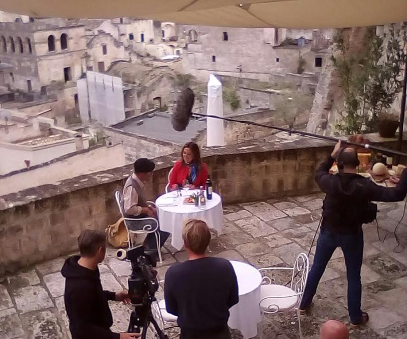 """Intervista all´assessore Paola D´Antonio per la puntata dedicata a Matera de """"La Dolce vita italiana"""""""